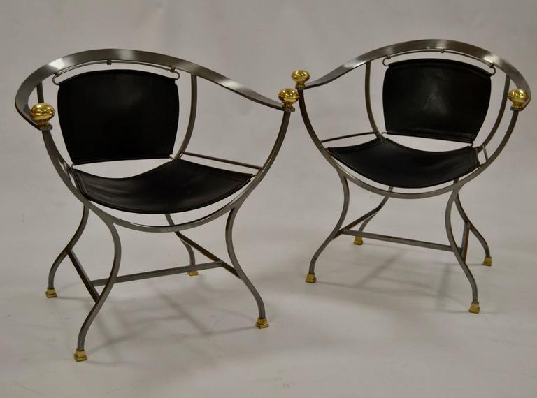 Pair of Armchairs 1970s Italian Designer Alberto Orlandi 2