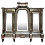 Fine and Unusual Napoleon III Period Boulle Cabinet