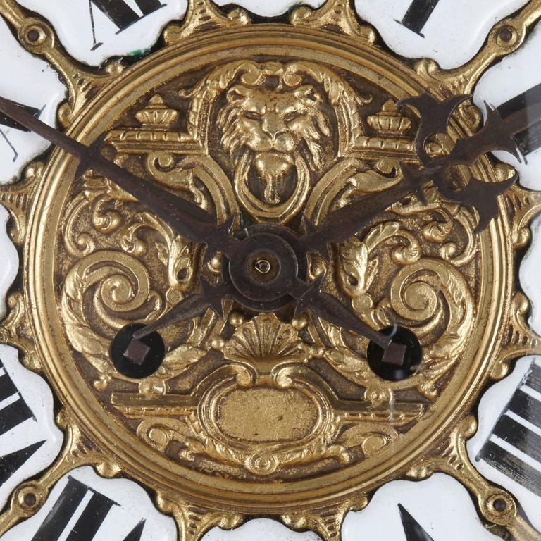 19th Century Antique French Neoclassical style Ormolu Clock and Barometer Set by Mottheau For Sale