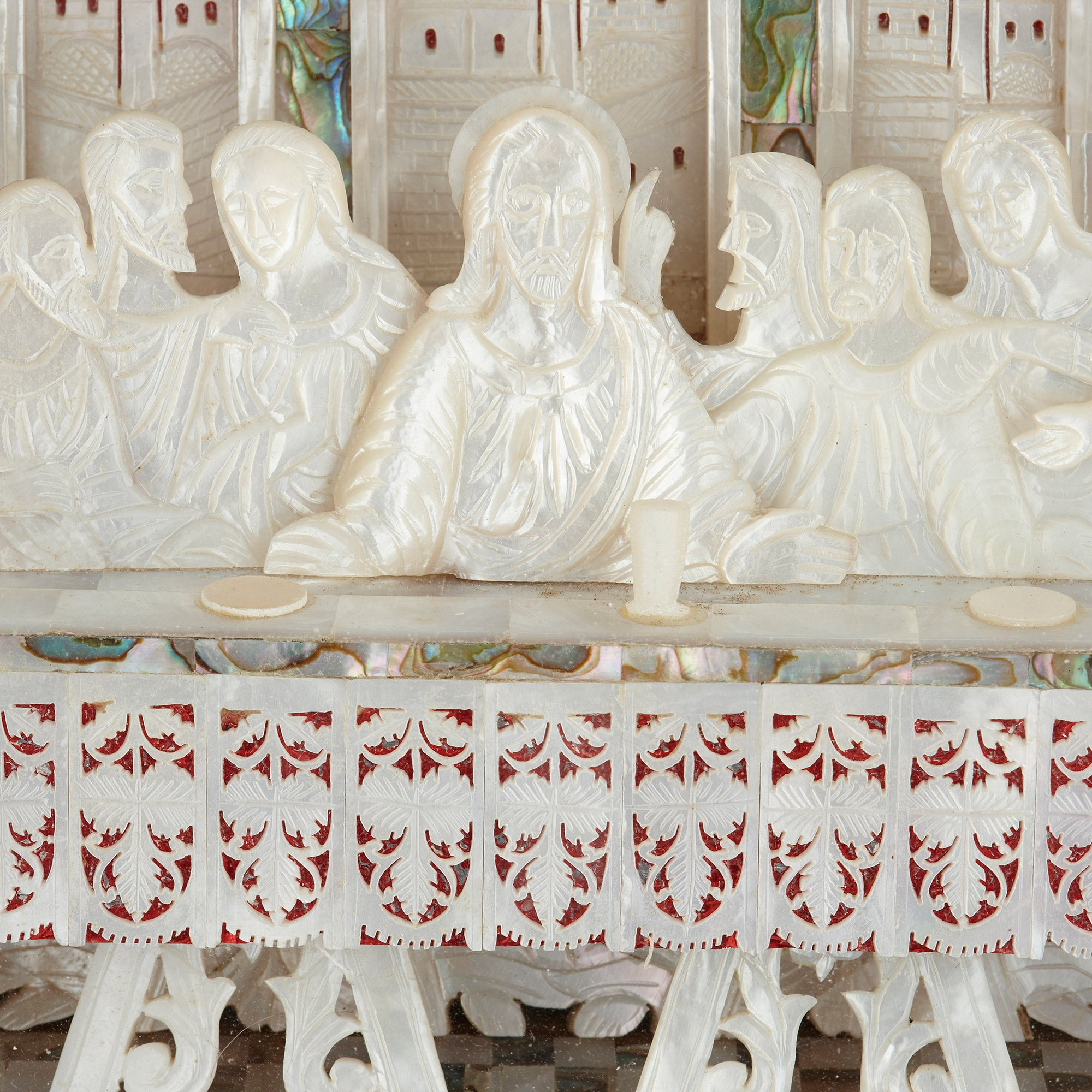 The last supper wood wall art wood carving the last supper wall