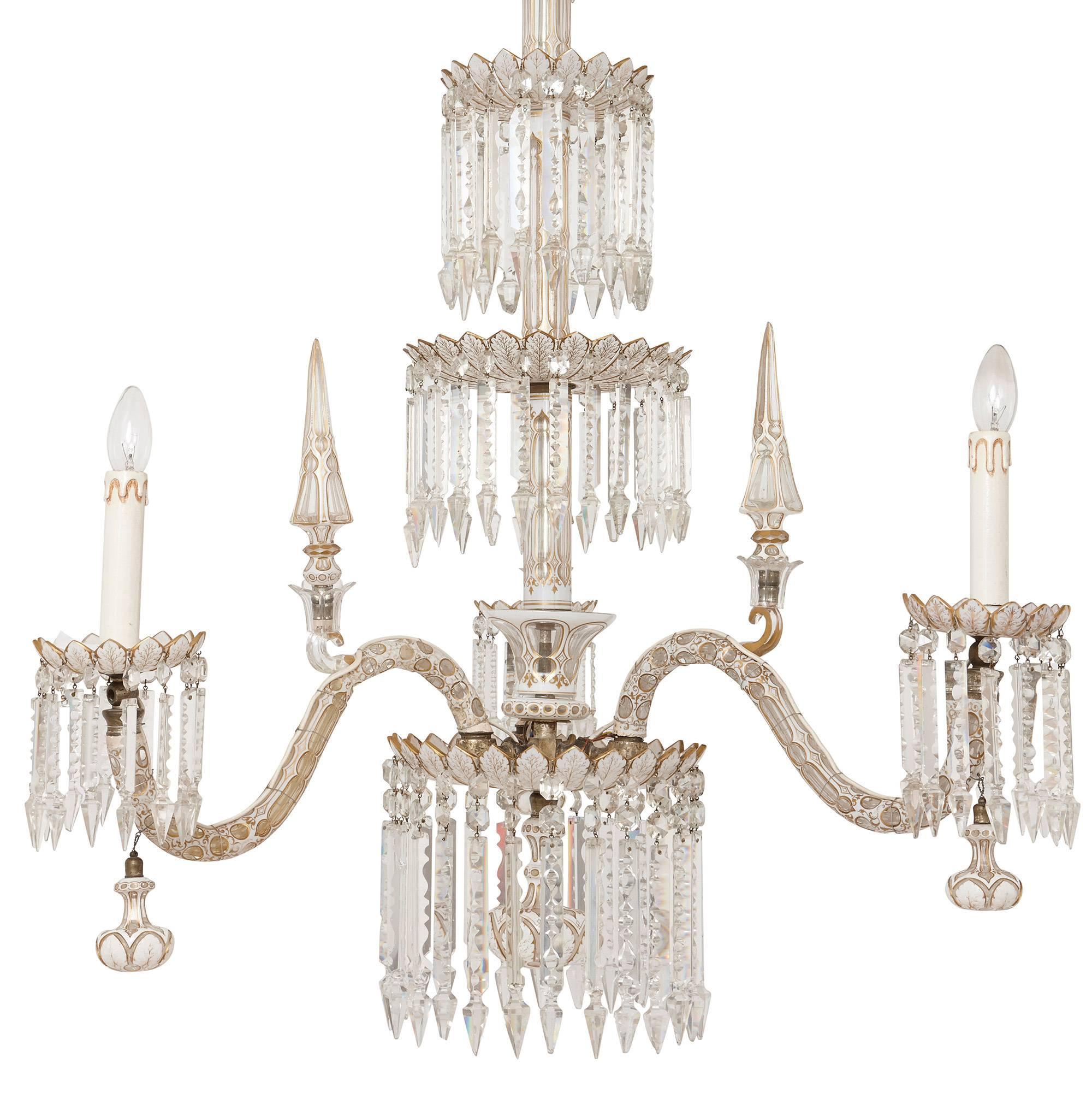 chandelier item ruby theresa m crystal lane table light maria bohemian