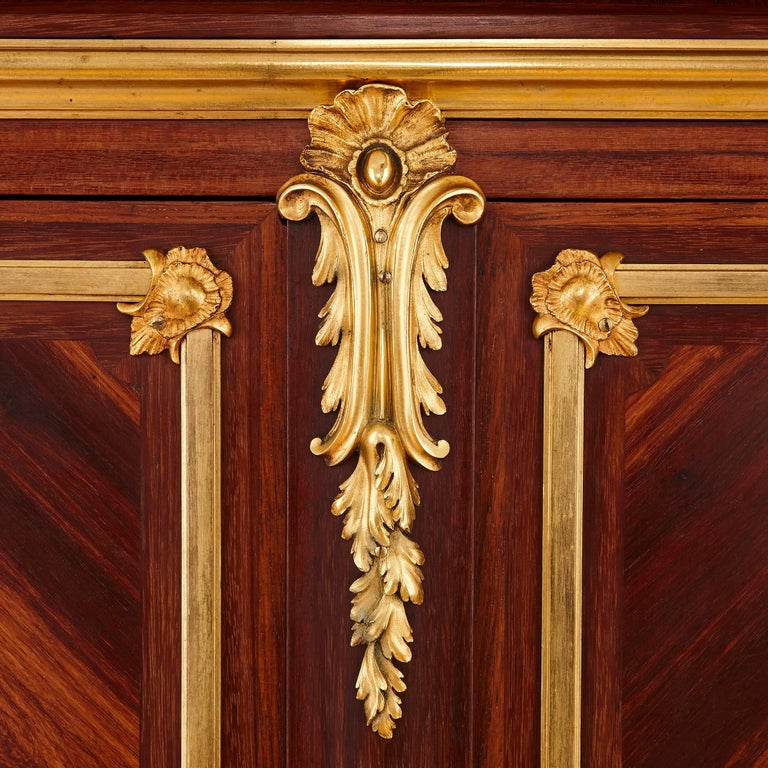 Pair of Gilt Bronze-Mounted Marquetry Cabinets by Durand In Excellent Condition For Sale In London, GB