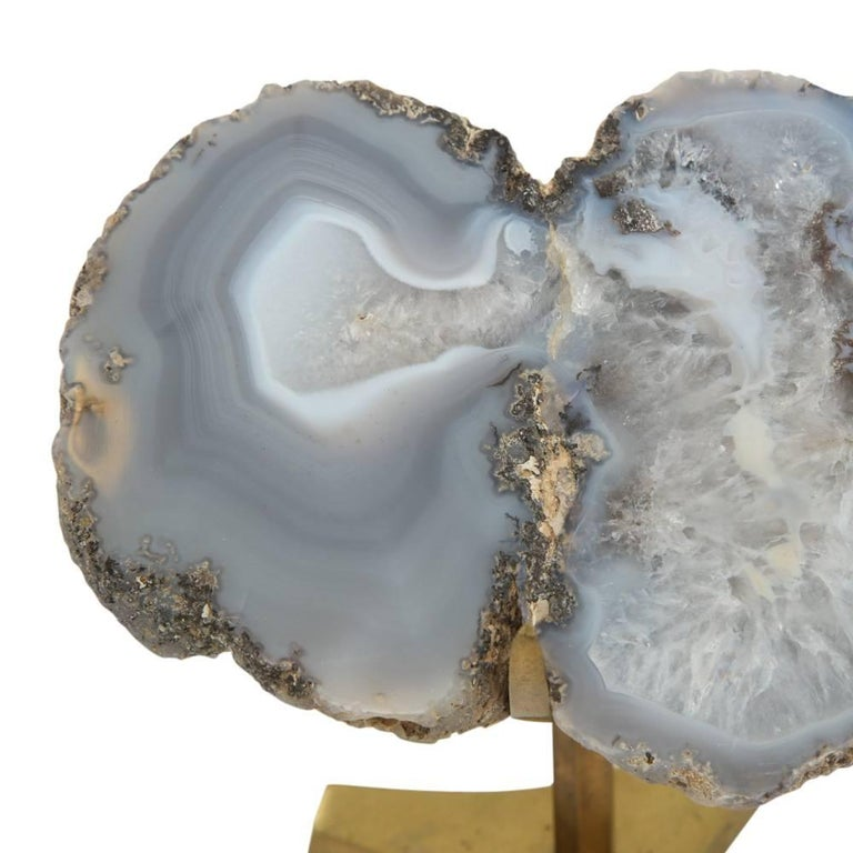 Arthur Court Agate, Mineral Sculpture, Signed For Sale 1
