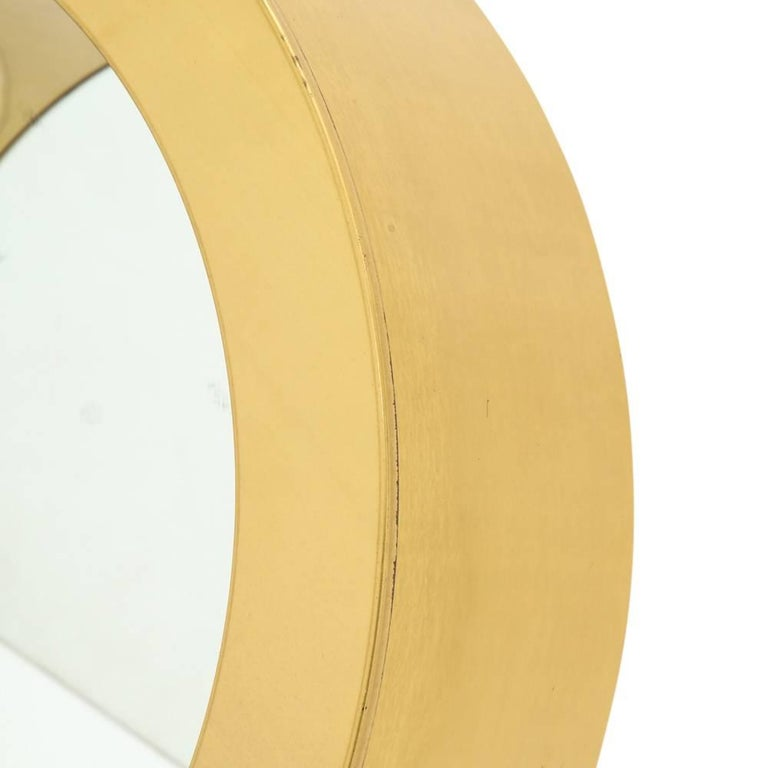 C. Jere Porthole Mirror, Brass In Good Condition For Sale In New York, NY