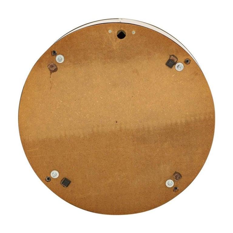 C. Jere Porthole Mirror, Brass For Sale 1