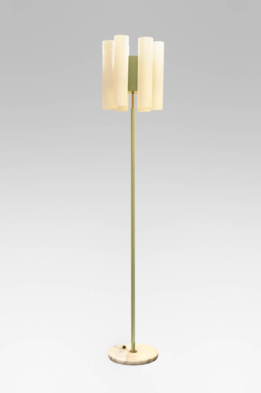 elegant floor lamp by stilnovo circa 1950 for sale at 1stdibs. Black Bedroom Furniture Sets. Home Design Ideas
