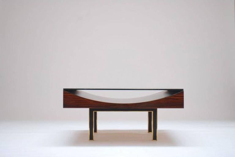 Modernist Pair of Coffee Tables by Joaquim Tenreiro, 1967 2