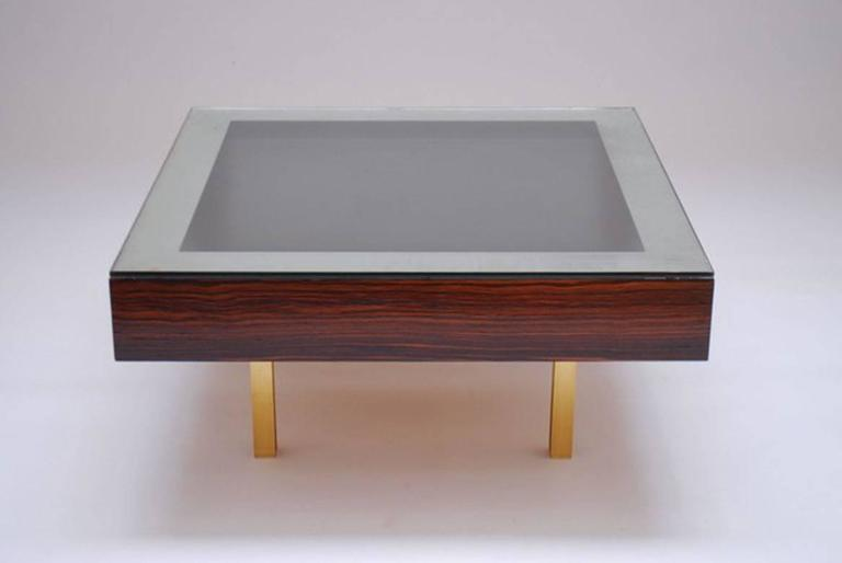 Modernist Pair of Coffee Tables by Joaquim Tenreiro, 1967 3