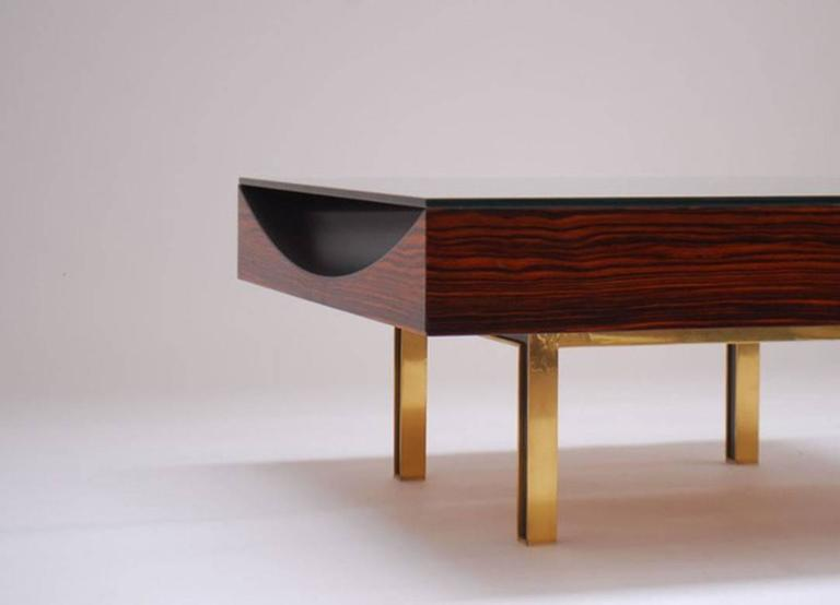 Modernist Pair of Coffee Tables by Joaquim Tenreiro, 1967 4