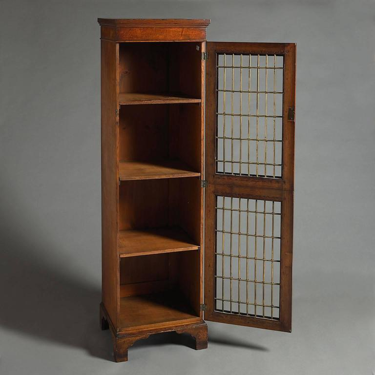 Unusual Pollard Oak Bookcase For Sale At 1stdibs