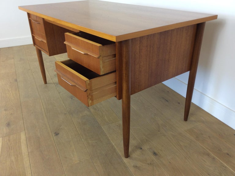 Teak Midcentury desk For Sale