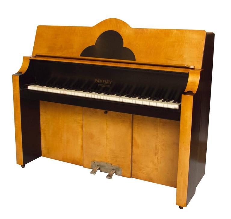 Art deco cloud design piano by prescott 39 s of oxford for for Piani art deco