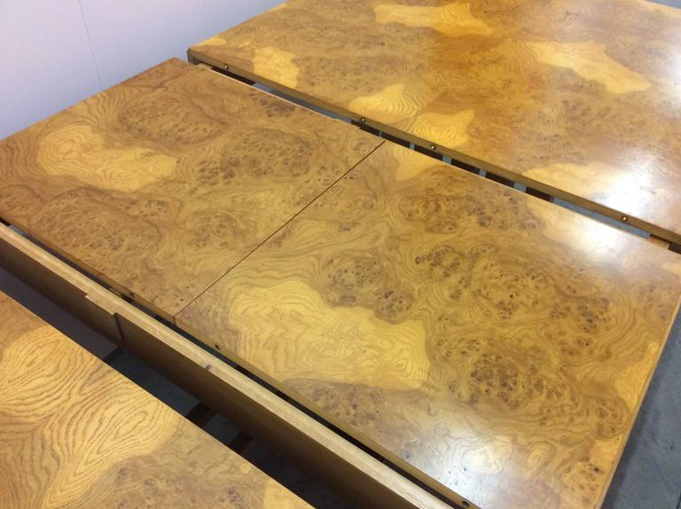 Mid-20th Century Extendable Dining Table For Sale 2