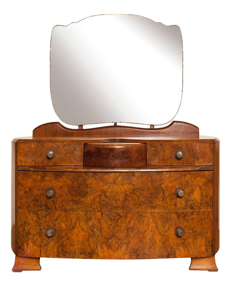 Art Deco Dressing Table With Secret Drawer At 1stdibs