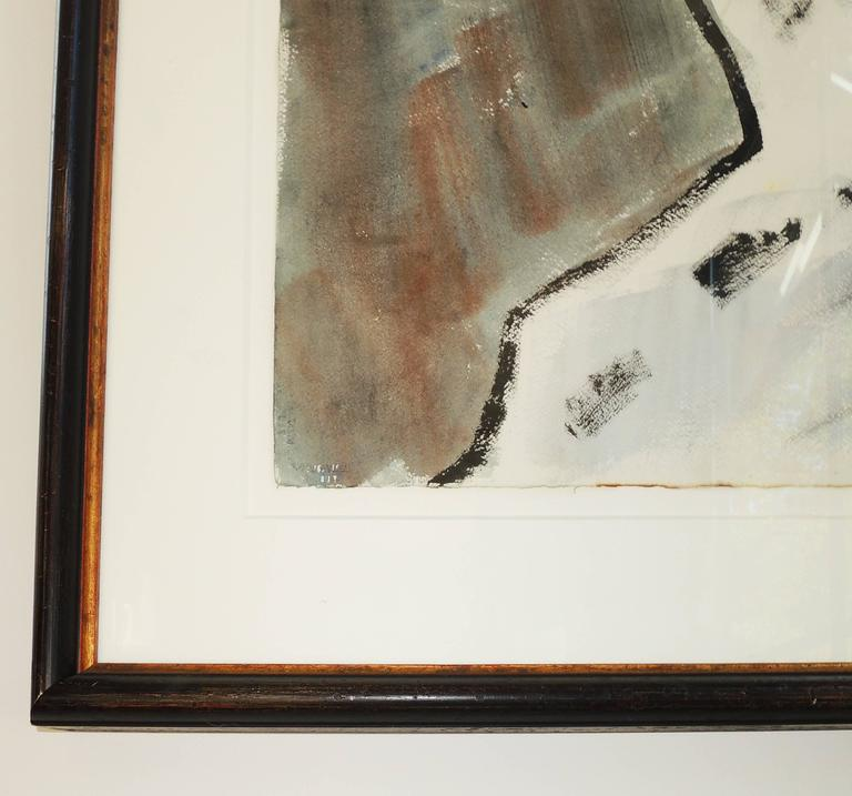 American Abstract Landscape by Leo Brooks For Sale
