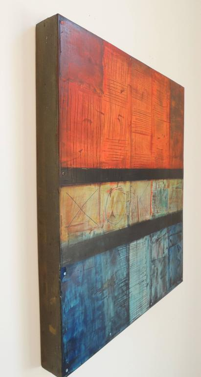 20th Century Abstract Painting by Tom Paiement For Sale