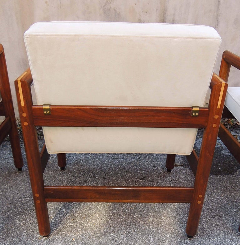 American Thonet Armchairs Set of Four, circa 1960 For Sale