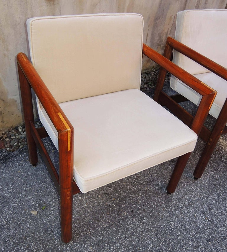 Thonet Armchairs Set of Four, circa 1960 In Excellent Condition For Sale In Washington, DC