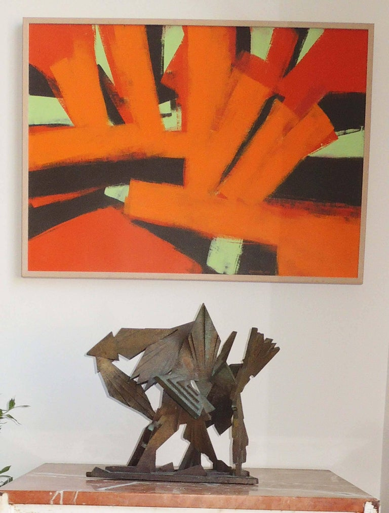 American Abstract Painting by Thomas Yanosky For Sale