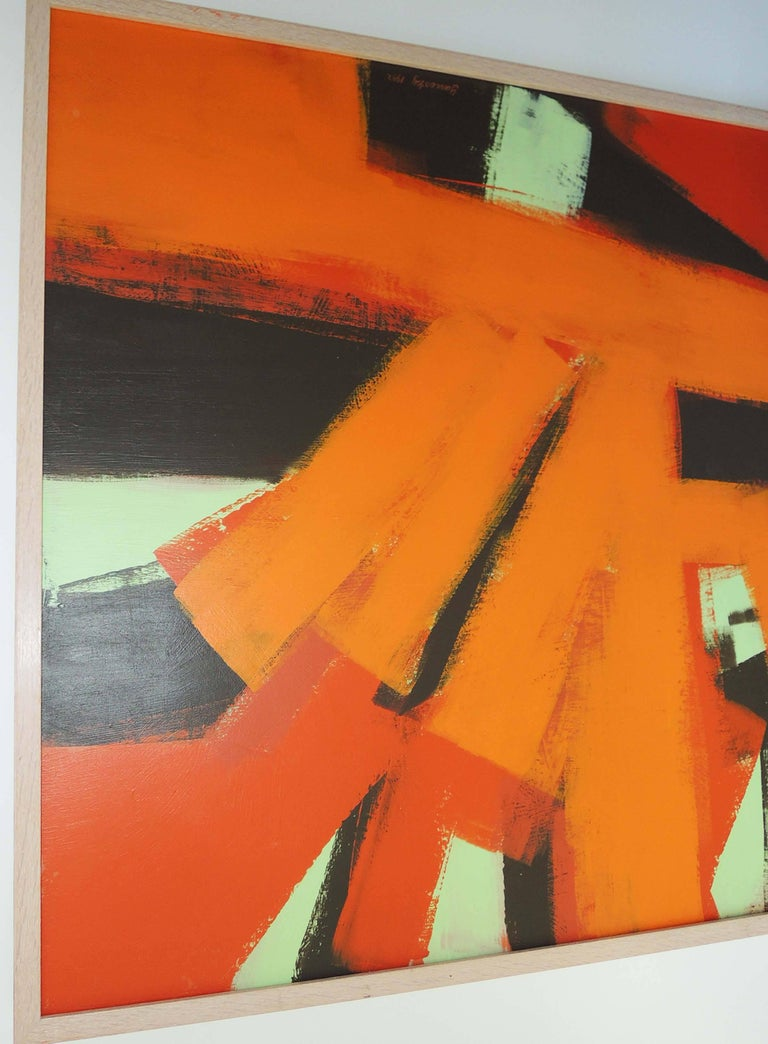 Abstract Painting by Thomas Yanosky In Excellent Condition For Sale In Washington, DC