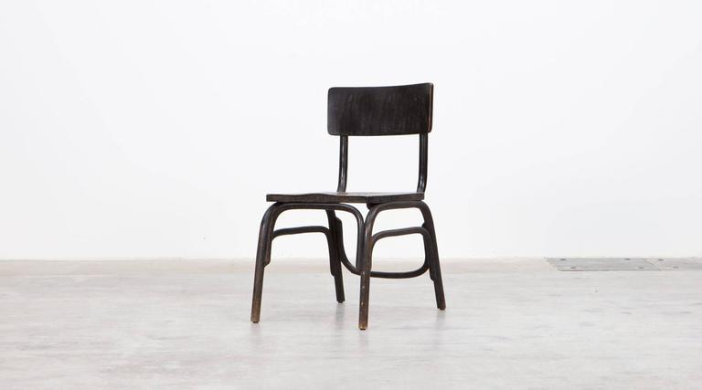 Beautiful Rare Ferdinand Kramer Easy Chair Made Out Of Beech Bentwood. They  Are Very Early