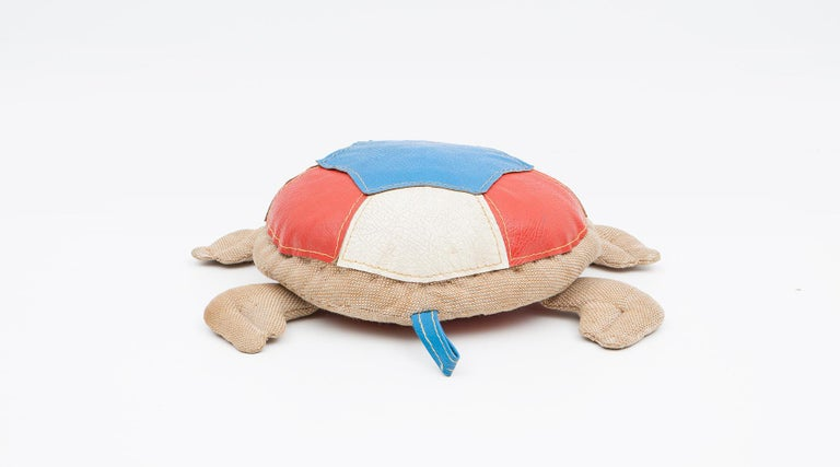 Leather 1970s High-Quality Children Toy by German Renate Müller For Sale