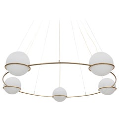Big Ceiling Lamp in Style of Gino Sarfatti 'y'