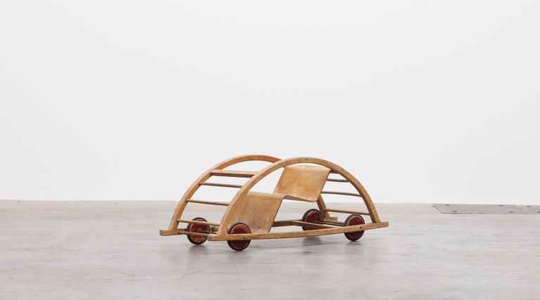 German 1950s Children's Swing Cart by Hans Brockhage 'a' For Sale