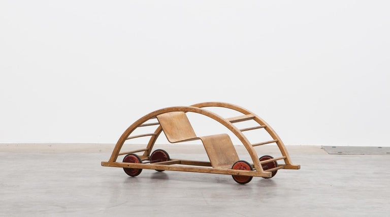 Mid-20th Century 1950s Children's Swing Cart by Hans Brockhage 'a' For Sale