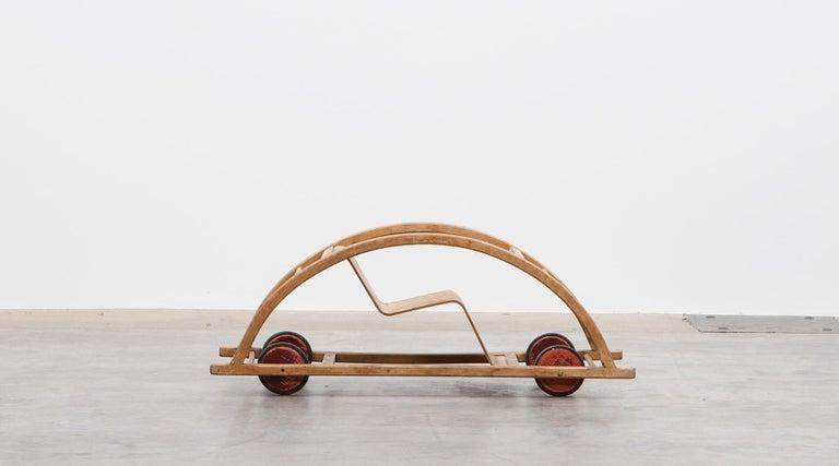 Metal 1950s Children's Swing Cart by Hans Brockhage 'a' For Sale