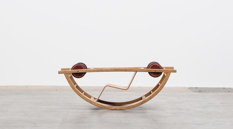 1950s Children's Swing Cart by Hans Brockhage 'a' For Sale 1