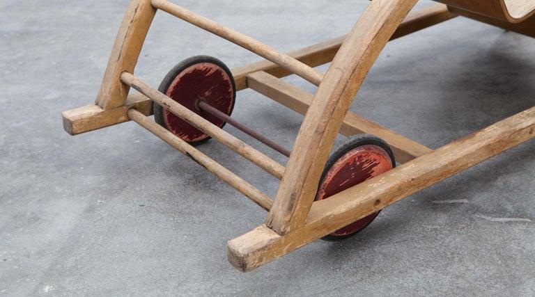 1950s Children's Swing Cart by Hans Brockhage 'a' For Sale 2