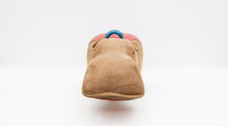 Mid-Century Modern 1970s High Quality Children Toy 'Hippo' by German Renate Müller 'd' For Sale