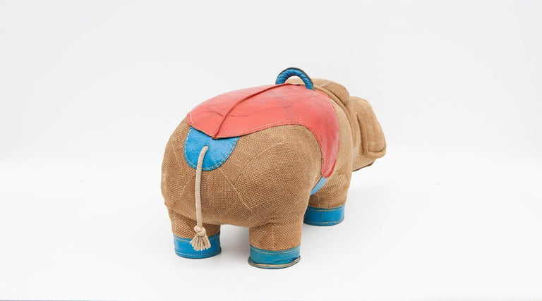 1970s High Quality Children Toy 'Hippo' by German Renate Müller 'd' For Sale 2