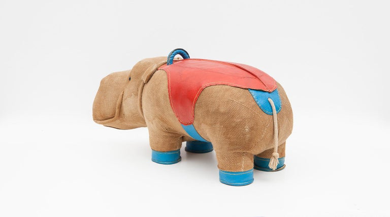 1970s High Quality Children Toy 'Hippo' by German Renate Müller 'd' For Sale 4