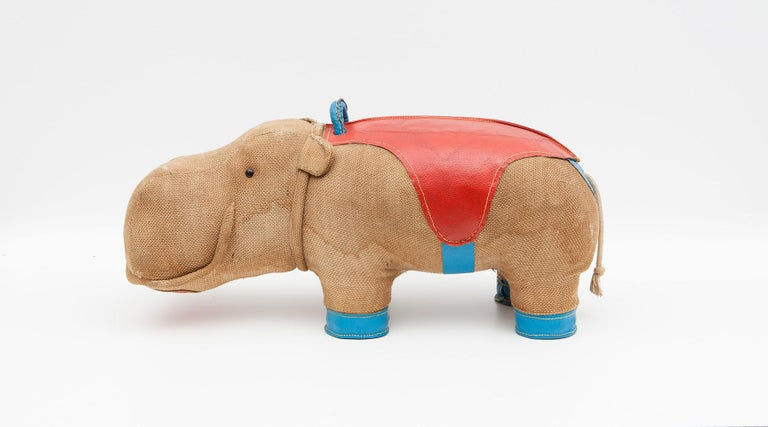 1970s High Quality Children Toy 'Hippo' by German Renate Müller 'd' For Sale 5
