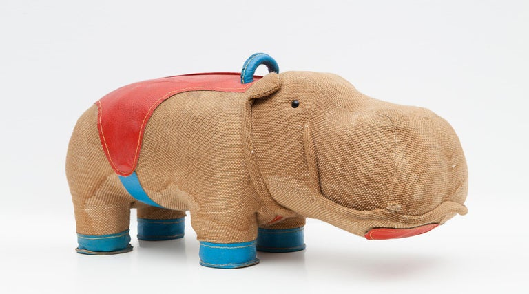 1970s High Quality Children Toy 'Hippo' by German Renate Müller 'd' For Sale 9