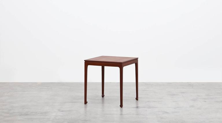 Mid-Century Modern Set of Ole Wanscher Side Tables For Sale
