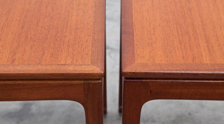 Danish Set of Ole Wanscher Side Tables For Sale