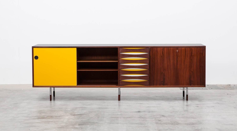 arne vodder sideboard for sale at 1stdibs. Black Bedroom Furniture Sets. Home Design Ideas