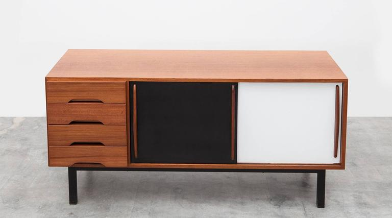 Mid-20th Century Charlotte Perriand Sideboard in Mahogany 'c'
