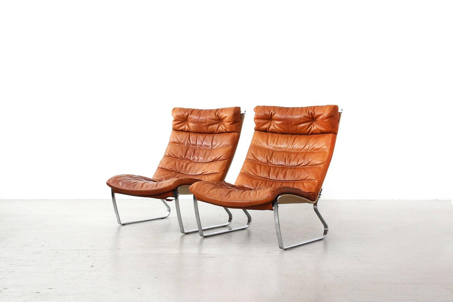 Lounge chairs by j rgen kastholm for kill international for Lounge chair kopie