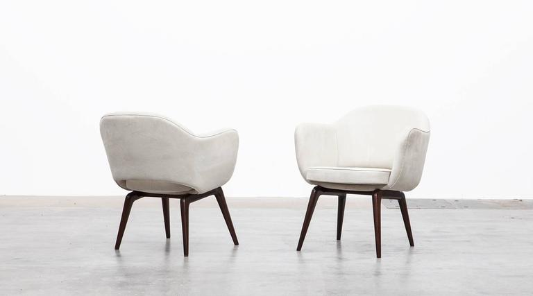 Tremendous Pair Of Jorge Zalszupin Lounge Chairs Ocoug Best Dining Table And Chair Ideas Images Ocougorg