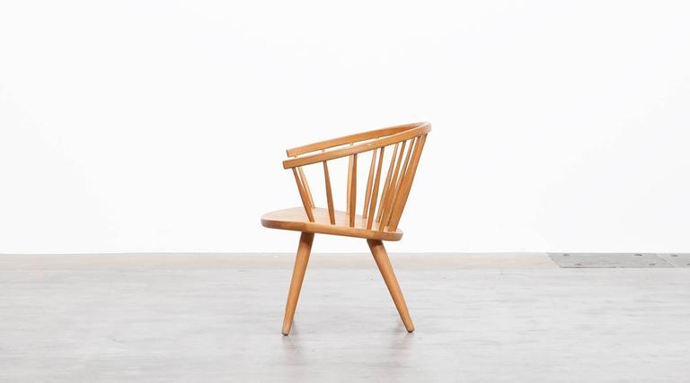 Mid-Century Modern Yngve Ekström Lounge Chair 'b'