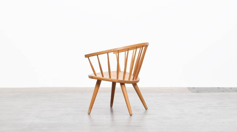 Swedish Yngve Ekström Lounge Chair 'b'