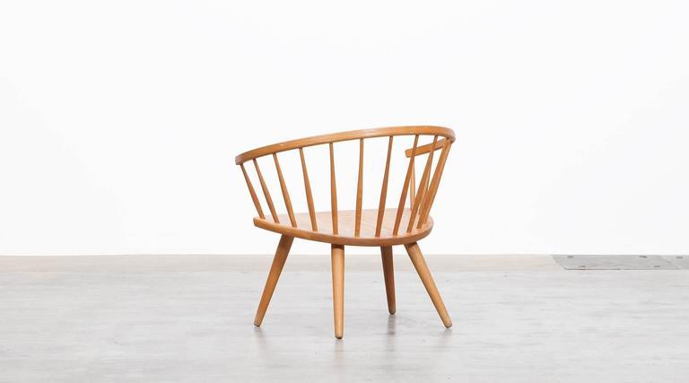 Yngve Ekström Lounge Chair 'b' In Excellent Condition In Frankfurt, Hessen, DE