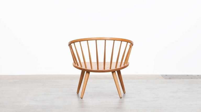 Mid-20th Century Yngve Ekström Lounge Chair 'b'