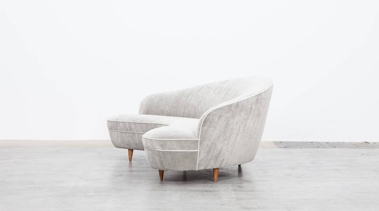 Mid-Century Italian Sofa * NEW UPHOLSTERY * 4
