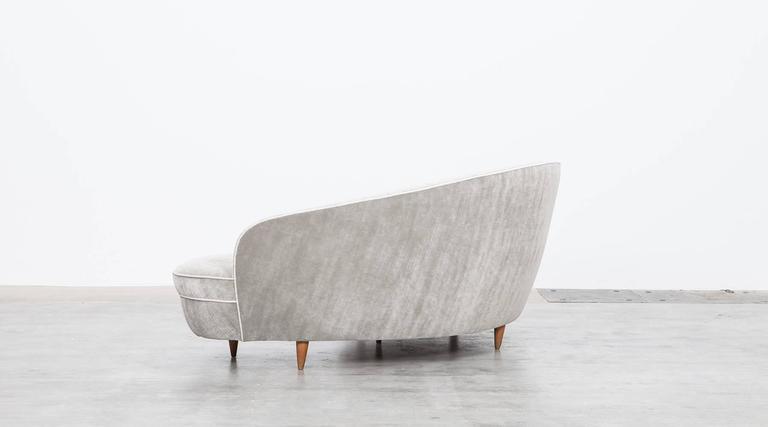 Mid-Century Italian Sofa * NEW UPHOLSTERY * 5