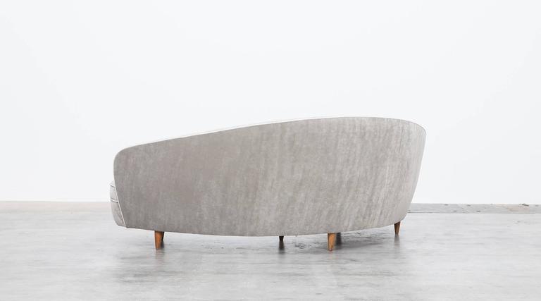 Mid-Century Italian Sofa * NEW UPHOLSTERY * 6